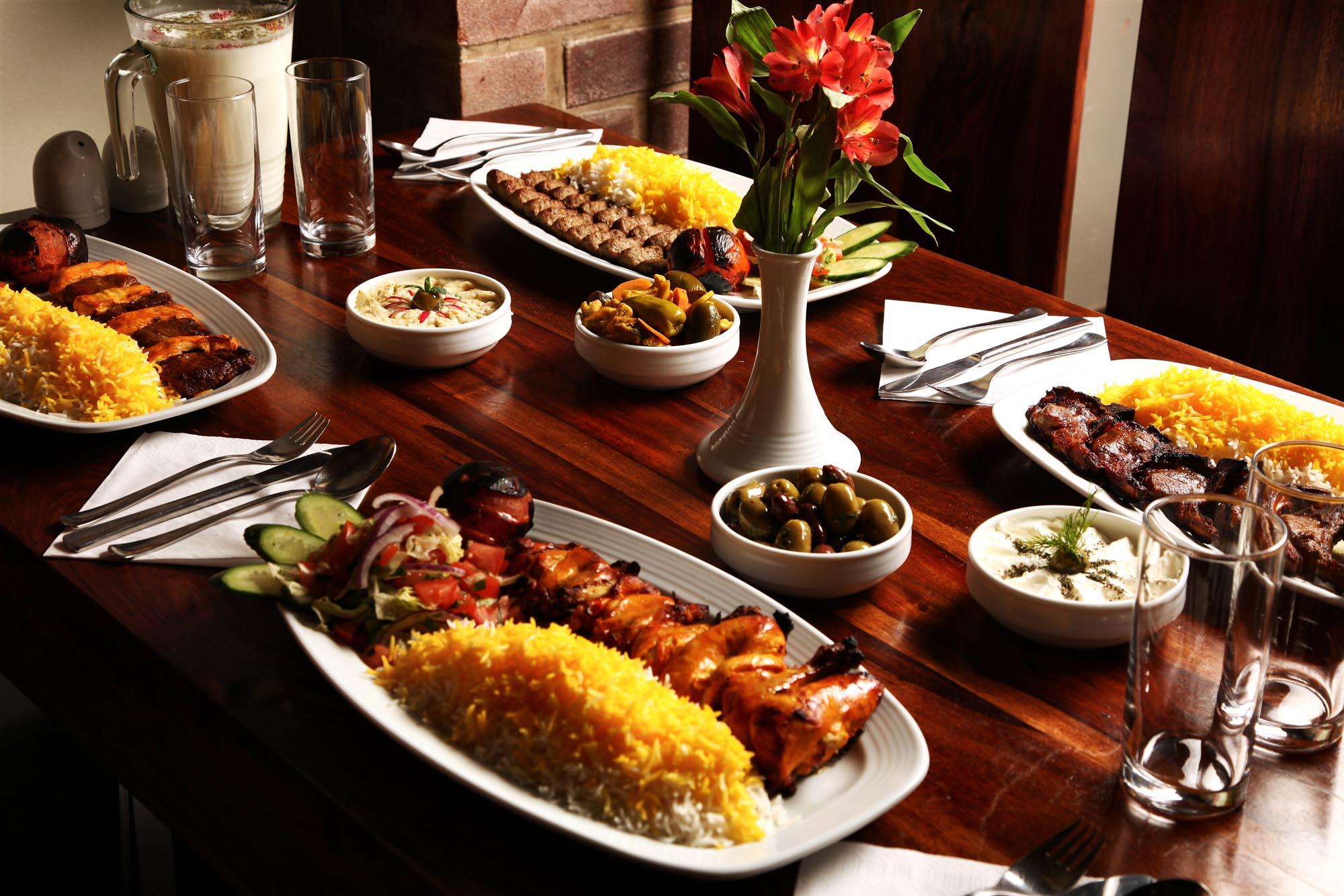 Main Courses – Kebab Dishes